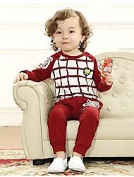 Kinder Herbst und Frühjahr Kleidung Kind setzt Sweatshirt gesetztes Baby-Kleidung twinset Baby-Sets