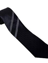 preto&tie padrão branco