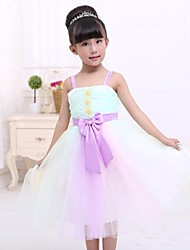 arc douce robe sangle princesse de fille