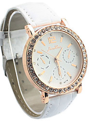 Gogo Fashion Causual Rhinestone Watch