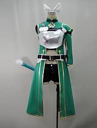spada arte online ⅱ calibur Shino costume cosplay