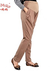 Maternity Casual Active Pants , Cotton Inelastic