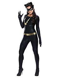 New Black Cat girl pu cosplay femmes robe de pole dancing Costumes d'Halloween