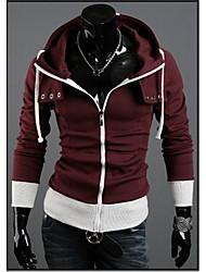 Paul Men's Fashion Casual Splice Hoodie Sweater