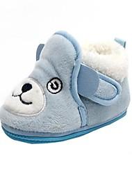 bbgobbworld bebé corderos de lana de los niños con zapatos de algodón gruesas botas inferiores antideslizantes
