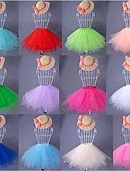 Colorful Short Petticoat Of Short Wedding dress Short Prom dress Short Party Dress
