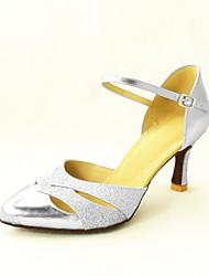 Chaussures de danse (Noir/Bleu/Rouge/Argent/Or) - Personnalisable - Talons personnalisés - Paillettes scintillantes/Paillette -