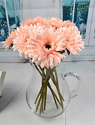 Silk / Plastic Chrysanthemum Artificial Flowers
