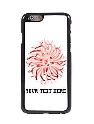 caso de telefone personalizado - caso design de metal pétala para iphone 6
