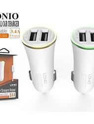 ldnio® 12v ~ 24v voiture double USB allume-cigare tension de sécurité de chargeur pour iPhone / Samsung et d'autres (5v-3.4a)