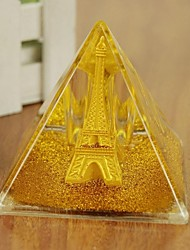 """3""""H Modern Style Powder Tower Crystal Glass Collectible (Random Delivery)"""