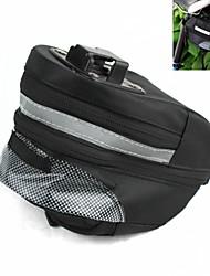 Bolsa de BicicletaBolsa para Bagageiro de Bicicleta Lista Reflectora Bolsa de Bicicleta Ripstop 600D Bolsa de Ciclismo Ciclismo 18*10*10cm