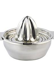 304 Edelstahl manuelle Saftpresse - Silber