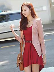 Women's Pink/Black Blazer , Work