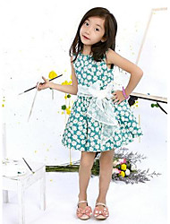 Girl's Fashion  Flower  Dresses  Lovely Princess 2015 New Arrive Dresses