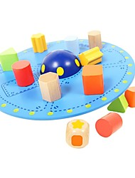 benho equilíbrio madeira de bétula brinquedo ufo madeira