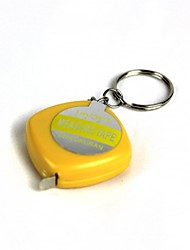 Simulation Ruler Get Electric Shock Keychain Tricky Props