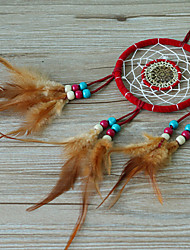 Red Chinese Style Dream Catcher