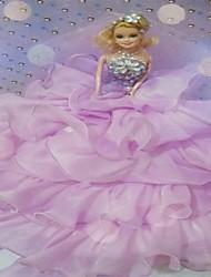 Rose Faery Nice Organza Wedding Dress Wedding Gift