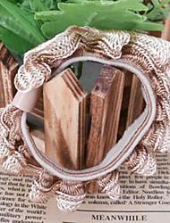 colorés liens de cheveux de tissu de mode pour les femmes (café, kaki et plus)