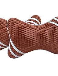 charbon de bambou air de purification 2 pcs mis toutes les saisons d'oreiller générale de la tête d'appui-tête de siège de voiture
