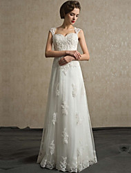 A-line Wedding Dress Sweetheart Lace with