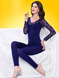 sexy lace emagrecimento roupa interior térmica das mulheres zyle