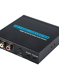 HDMI to A/V+S-Video Auto Scaler ,HD Video Converter ,Audio Video Converter,HDMI Converter