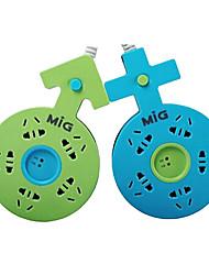 soquete mig sp-5271 extensão casais de proteção contra raios com 2m gb cabo de energia de ligação ac cores sortidas