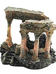 Guyun stile Europen decorazione colonna roma rocaille per l'acquario