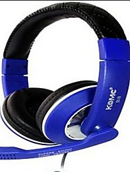 KOMC B8 On-Ear USB Headphone with Mic of Gaming