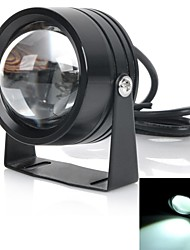 exLED 10W LED Car Light / Motorcycle Headlamp White 4500K 1200lm - Black
