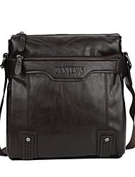 New winter men's oil wax leather shoulder bag fashion casual shoulder bag handbag