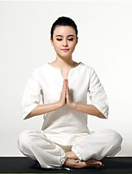 Yoga Clothing Sets/Suits Quick Dry / Antistatic / Limits Bacteria Inelastic Sports Wear Women'sYoga