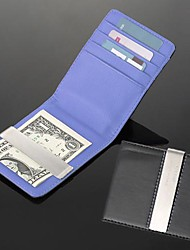 regalo regalo di nozze groomsman personalizzato incisione leatheroid viola d'argento nero soldi portafoglio di clip