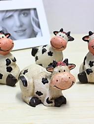 décoration de mariage mignon décoration de vache décoration de la maison (ensemble de 4)