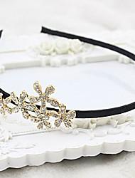 Mode Rhinestone-Blumen europäischen Stil Stirnbänder