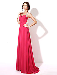 Formal Evening Dress - Beautiful Back A-line Sweetheart Floor-length Chiffon with Embroidery