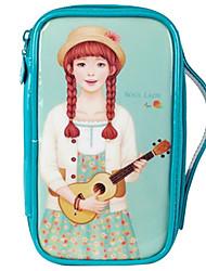 elegante Corea troppopieno autentico sacchetto cosmetico multifunzionale