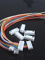 XH2.54-7P Single Head Wire With Wire Terminals(5Pcs)
