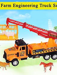 altíssima qualidade para carro de brinquedo caminhão crianças atrito conjunto com ferramentas do tema da fazenda 20142-4