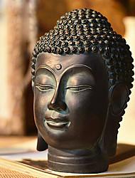 tête de bouddha de style chinois décoration