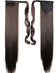 Human Hair Extensions Synthetic Straight Hair Extension