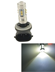 Carking™ Car Auto 881 50W 10SMD LED Fog Light Head Lamp Driving Bulb-White(12V 1PC)
