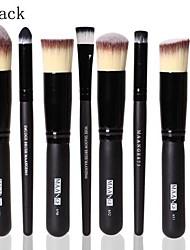 Escovas profissionais cosméticos definir 8pcs kit nariz fundação da face sombra