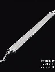 Fashion Sterling Silver Plated Fringe  Women's Bracelet