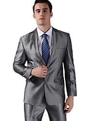 серый флис с учетом подходят два кусок костюм