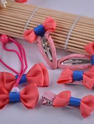 Girl's Lovely  Accessory Set(Headband&Hair Ties&Clips)