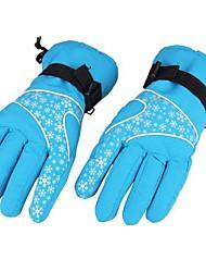 сноуборд лыжи горных видов спорта снежинка перчатки на открытом воздухе водостойкий ветрозащитный Зимняя Термальная толстый теплый