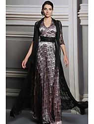 ein Online-halter bodenlangen Abendkleid (31.213)